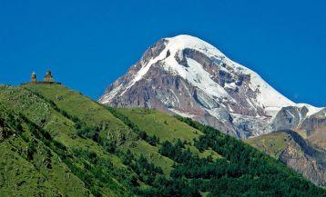 Горные вершины Грузии