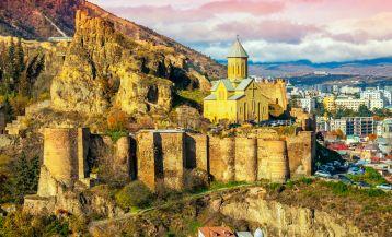 Замки и крепости в Грузии
