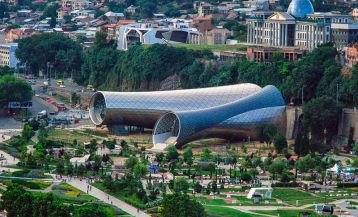 Top 10 Unique Modern Buildings in Georgia