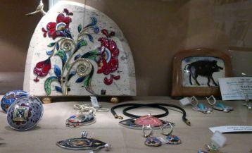 "Gallery of cloisonne enamel ""Ornament"""