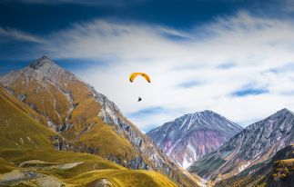 Paragliding Tour durch Georgien