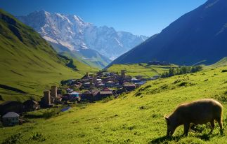 High Path Trek to Upper Svaneti