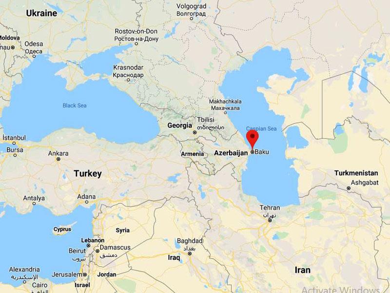 map-Uncover Azerbaijan